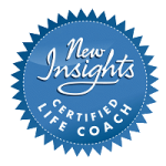Emerald Connection New Insights certified life coach badge