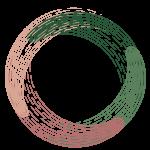 Emerald Connection Life Coaching logo woodcut
